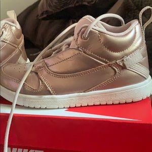 Girls Jordan sneaker